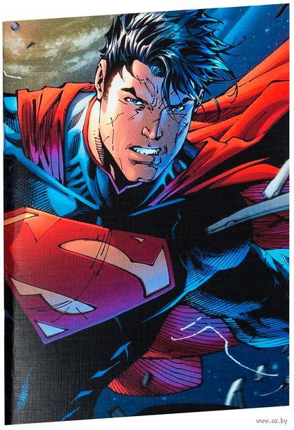 """Блокнот белый """"Супермен"""" А5 (408)"""