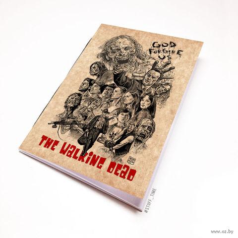 "Блокнот крафт ""Ходячие мертвецы"" (А5; арт. 124) — фото, картинка"