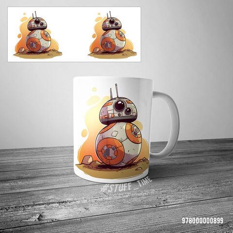 "Кружка ""BB-8"" (белая) — фото, картинка"