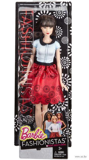"""Кукла """"Барби. Игра с модой. Азиатка в красной юбке"""" — фото, картинка"""