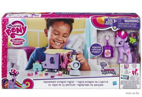 """Игровой набор """"My Little Pony. Поезд дружбы"""" — фото, картинка"""