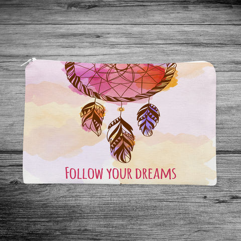"""Косметичка """"Follow your dreams"""" (арт. 15) — фото, картинка"""