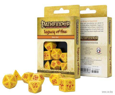 """Набор кубиков """"Pathfinder. Legacy of Fire"""" (7 шт.) — фото, картинка"""