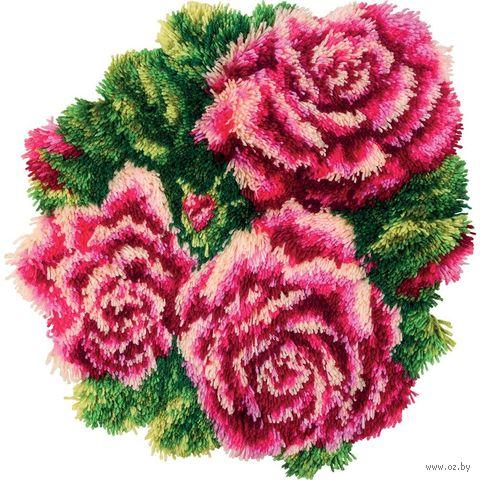 """Вышивка крестом """"Коврик Розы"""" (500х480 мм) — фото, картинка"""