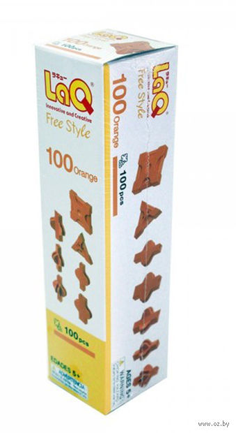 "Конструктор ""LaQ. Free Style 100 Orange"" (100 деталей)"