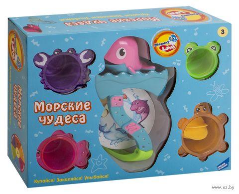 """Набор игрушек для купания на присоске """"Морские чудеса"""" — фото, картинка"""
