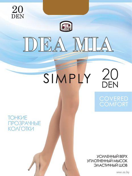 "Колготки женские классические ""Dea Mia. Simply 20"" — фото, картинка"