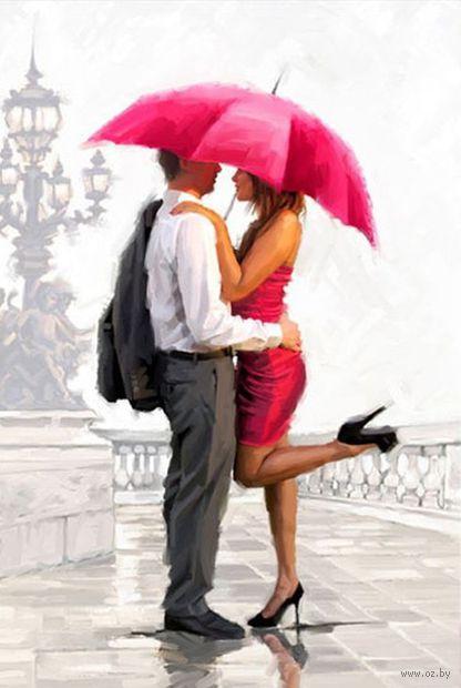 """Алмазная вышивка-мозаика """"Это любовь"""" (400х600 мм) — фото, картинка"""