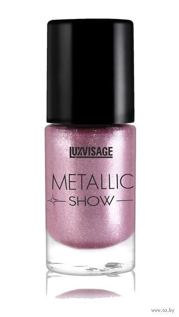 """Лак для ногтей """"Metallic Show"""" (тон: 305, лиловое золото) — фото, картинка"""