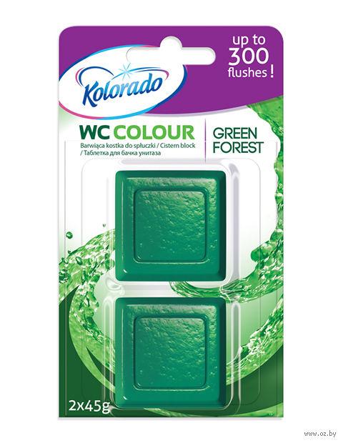 "Таблетка для бачка ""Kolorado WC Colour"" (зеленая; 2 шт.) — фото, картинка"