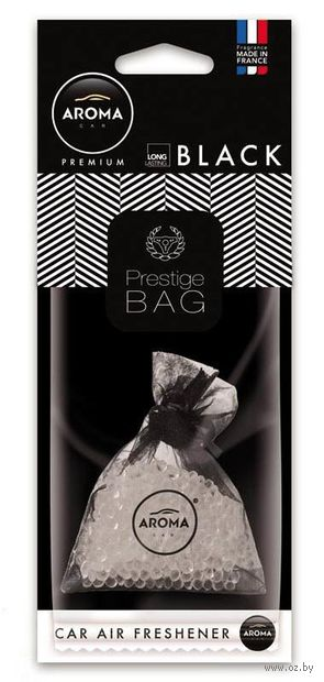 "Ароматизатор подвесной ""Prestige Bag"" (black) — фото, картинка"