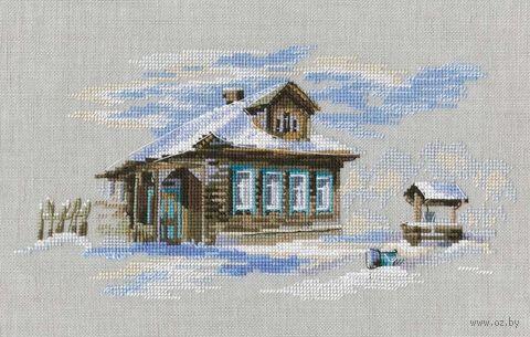 """Вышивка крестом """"Крещенские морозы"""" (235х120 мм) — фото, картинка"""