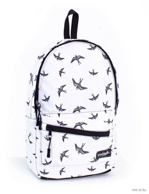 """Рюкзак """"Птички"""" (9 л; белый; арт. 37006) — фото, картинка"""