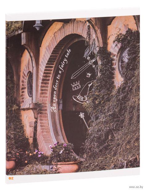 """Тетрадь полуобщая в клетку """"Fairy Tale"""" (48 листов) — фото, картинка"""