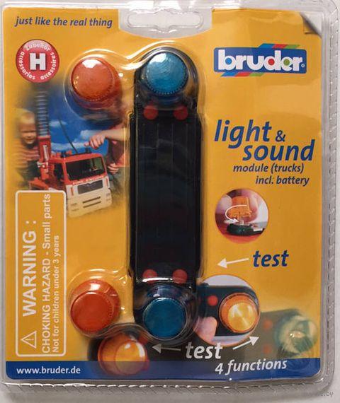 """Модуль со световыми и звуковыми эффектами """"H"""" (масштаб: 1/16)"""