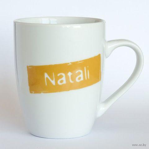 "Кружка высокая Name Is ""NATALI"""