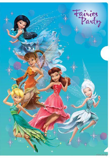 """Папка-уголок """"Fairies Party"""" (А4)"""