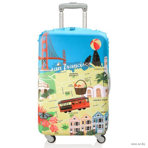 """Чехол для чемодана """"San Francisco"""" (средний)"""