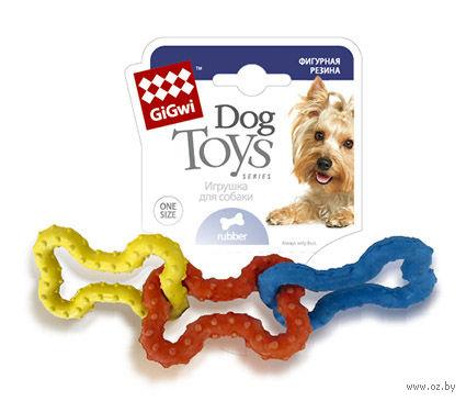 """Игрушка для собак """"3 Косточки"""" (15 см) — фото, картинка"""
