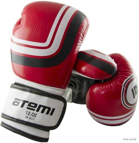 Перчатки боксёрские LTB-16111 (S/M; красные; 8 унций) — фото, картинка