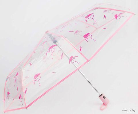 """Зонт """"Фламинго"""" — фото, картинка"""