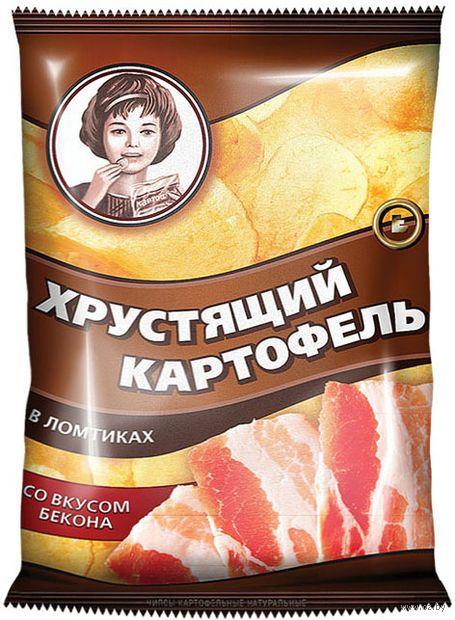 """Чипсы картофельные """"Хрустящий картофель. Со вкусом бекона"""" (70 г) — фото, картинка"""