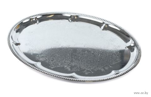 Поднос металлический (410х290 мм)