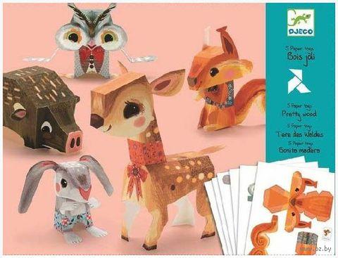 """Оригами простое """"Животные"""""""