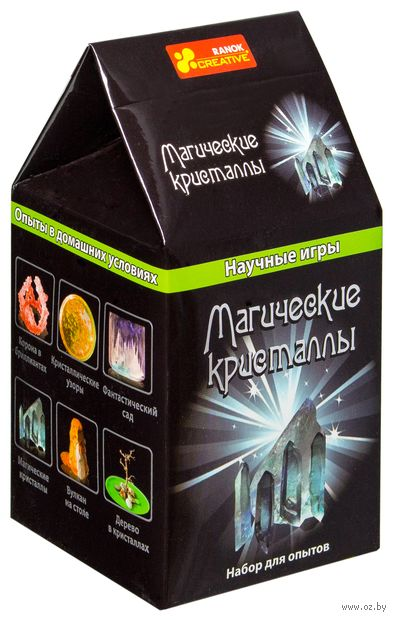 """Набор для выращивания кристаллов """"Научные игры. Магические кристаллы"""""""