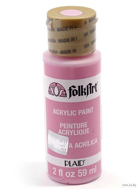 """Краска акриловая """"FolkArt. Acrylic Paint"""" (ярко-детский розовый, 59 мл; арт. PLD-00223)"""