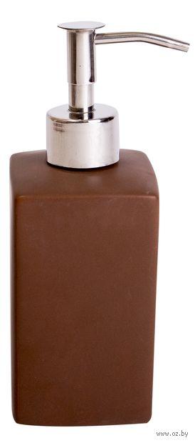 Дозатор для жидкого мыла керамический (175 мм)