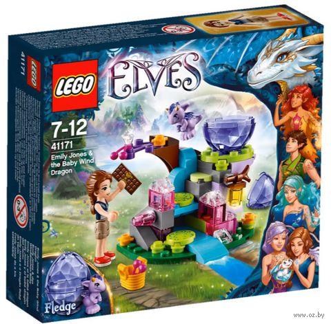 """LEGO Elves """"Эмили Джонс и дракончик ветра"""""""