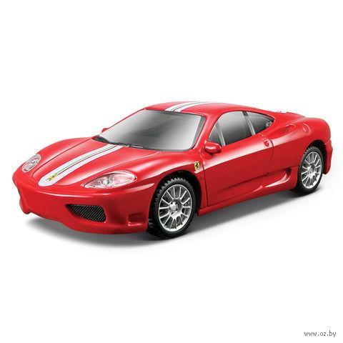 "Модель машины ""Bburago. Ferrari 360 Modena Challenge Stradale"" (масштаб: 1/43)"