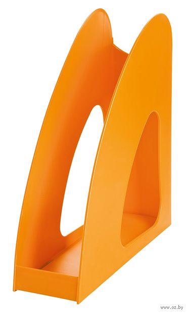 """Лоток для бумаги вертикальный """"Loop"""" (оранжевый)"""