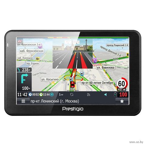 GPS-навигатор Prestigio GeoVision 5068 Progorod [PGPS5068CIS04GBPG] — фото, картинка