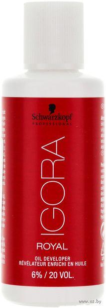"""Лосьон-окислитель для волос """"Oil Developer. 20 Vol"""" (60 мл) — фото, картинка"""