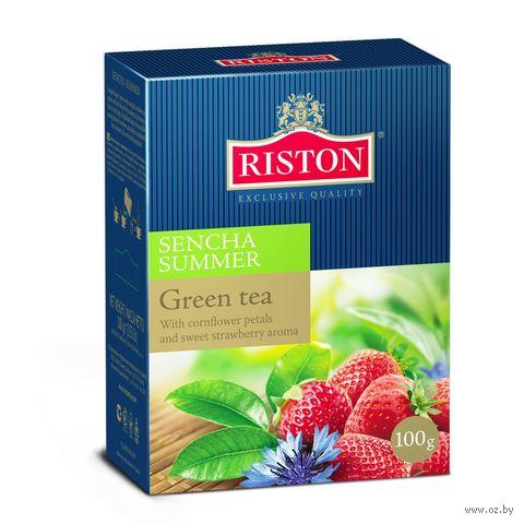 "Чай зелёный ""Riston. Sencha Summer"" (100 г) — фото, картинка"