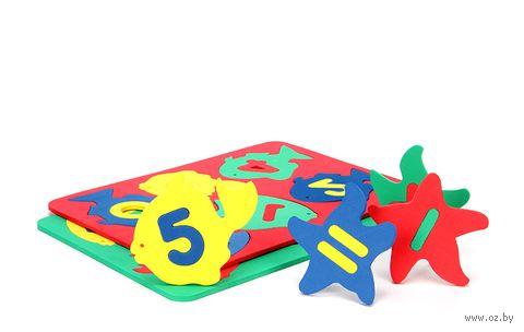 """Набор игрушек для купания """"Аква Рыбки. Цифры"""""""
