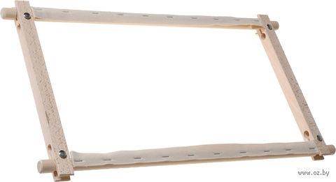Пяльцы с вращающимися планками (30x22 см) — фото, картинка