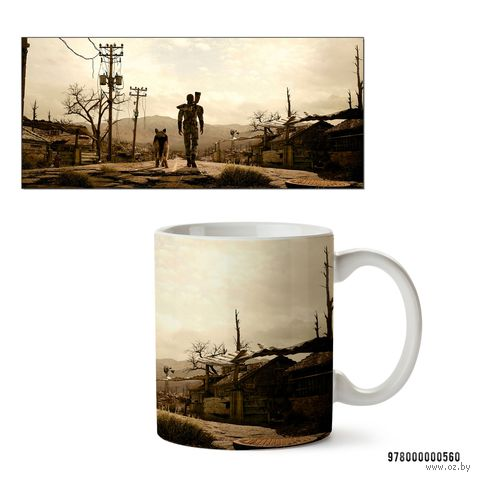 "Кружка ""Fallout 3"" (арт. 560)"