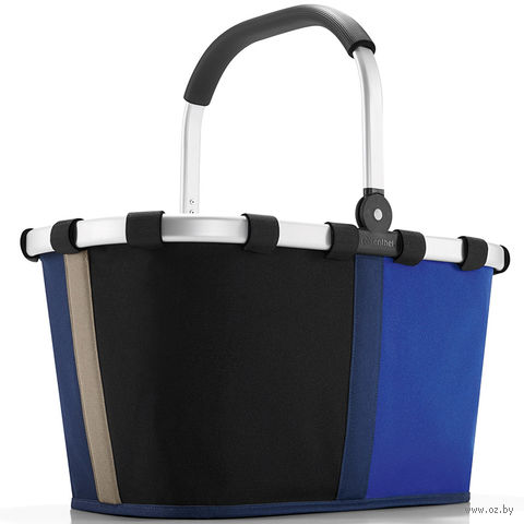 "Корзина ""Carrybag"" (patchwork royal blue)"