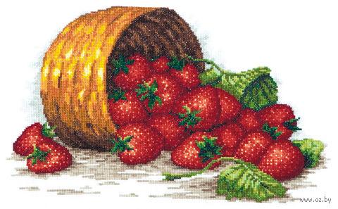 """Вышивка крестом """"Сладка ягода"""""""