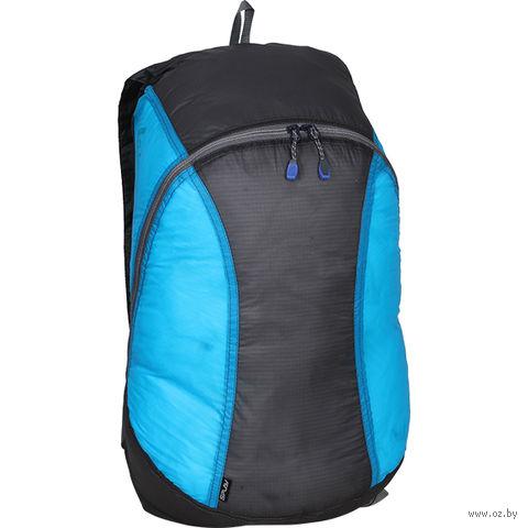"""Рюкзак """"Pocket Pack Si"""" (18 л; серо-синий) — фото, картинка"""