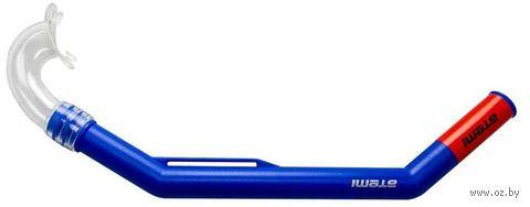 Трубка для плавания 310 (S; синяя) — фото, картинка