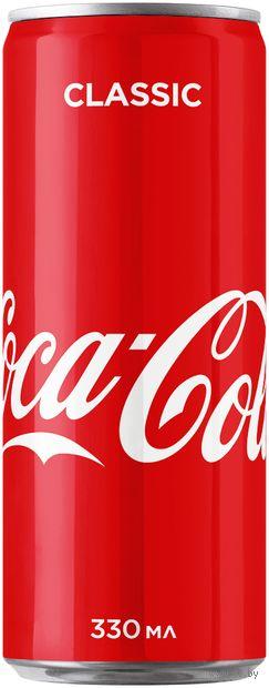 """Напиток газированный """"Coca-Cola"""" (330 мл) — фото, картинка"""