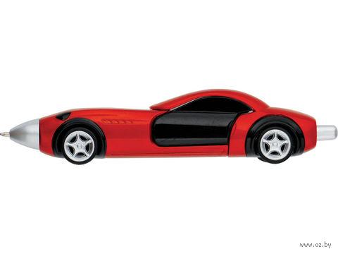 """Ручка шариковая """"Сан-Марино"""" в виде автомобиля (красная) — фото, картинка"""