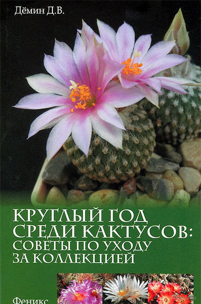 Круглый год среди кактусов. Советы по уходу. Д. Демин
