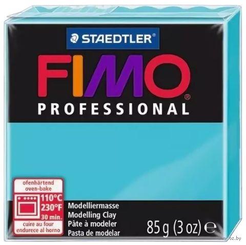 """Глина полимерная """"FIMO Professional"""" (бирюзовый; 85 г)"""