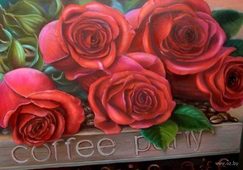 """Алмазная вышивка-мозаика """"Прекрасные розы"""""""