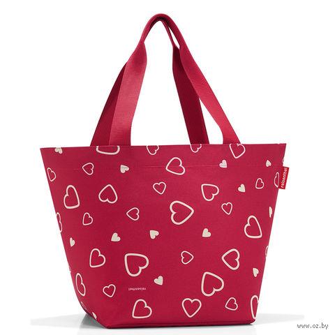 "Сумка ""Shopper"" (M, hearts)"